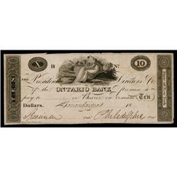 Ontario Bank ca.1830's Obsolete Proof.
