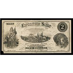 I.P.Strauss & Brother Exposition Scrip Obsolete Banknote.