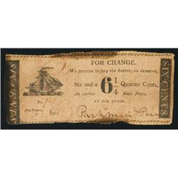 Parkman & Paine Obsolete Scrip Note.