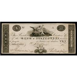 Bank of Alexandria ca.1830's Obsolete Proof.
