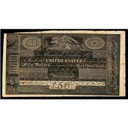 Bank of the United States Proof by Henderson.