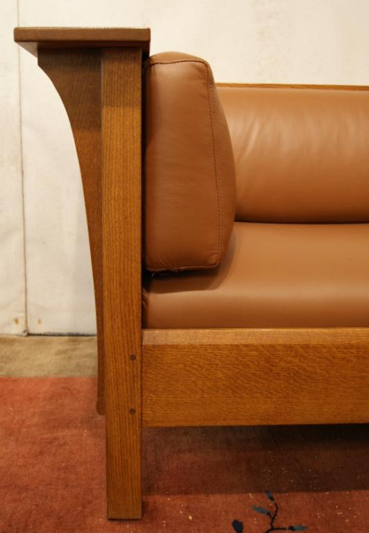 Tremendous Mission Stickley Leather Sofa Gmtry Best Dining Table And Chair Ideas Images Gmtryco