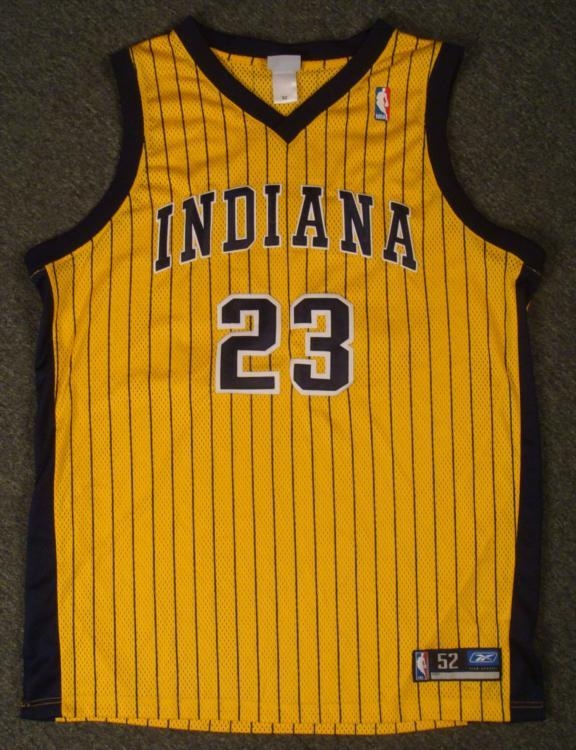 the best attitude 0a211 a2b8d Authentic Indiana Pacers Ron Artest Jeresey Basketball
