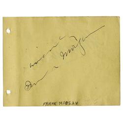 Frank Morgan Signature