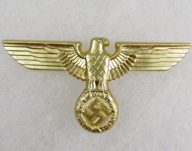 GERMAN NAZI NSDAP/SA KEPI VISOR CAP EAGLE