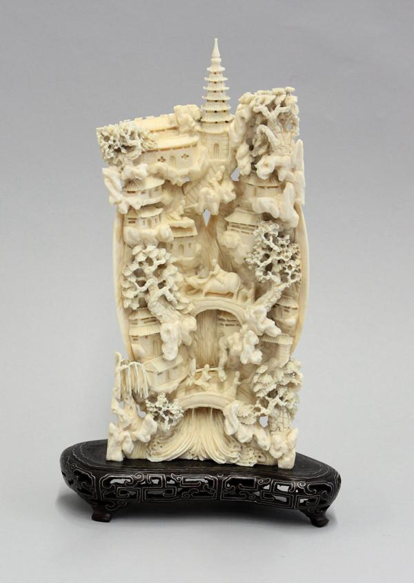 c1124e0d48b70d Image 1   Chinese Ivory Carving
