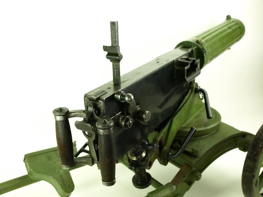 Non-functioning replica Russian Maxim 1910 7 62mm