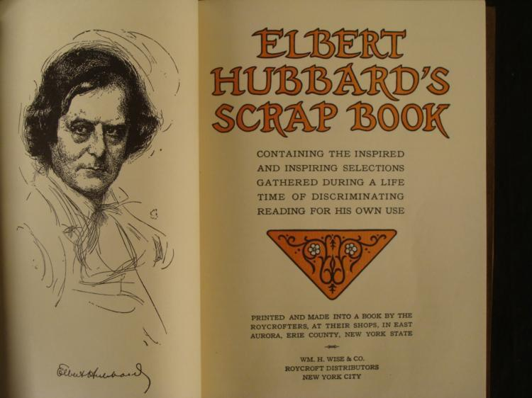 Image result for elbert hubbard books