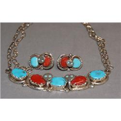 NAVAJO JEWELRY SET