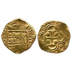 Seville, Spain, cob 2 escudos, 1615D.