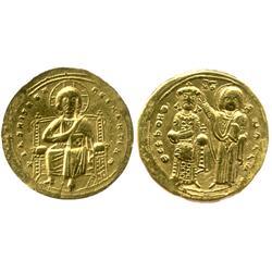 Byzantine Empire, gold histamenon nomisma, Romanus III, 1028-34 AD.