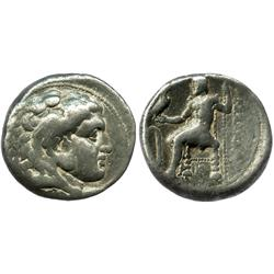 KINGS of MACEDON, AR tetradrachm, Alexander III (the Great), 336-323 BC.