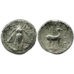 IONIA, Ephesos, AR drachm, 202-150 BC.