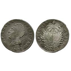 Haiti, 100 centimes, AN27 (1830), Boyer.