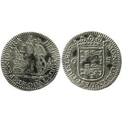 Westfriesland, United Netherlands, 6 stuivers, 1678.