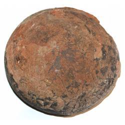 Dinosaur egg (probably Hadrosaur), ca. 100 million years old (Cretaceous period).
