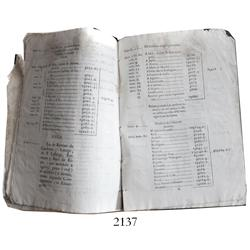1778 Spanish paper-bound court document concerning a lawsuit, 41 printed pages.