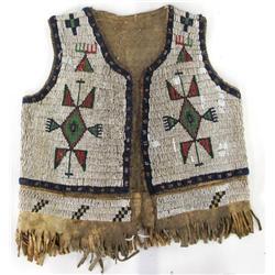 Beaded Child's Vest
