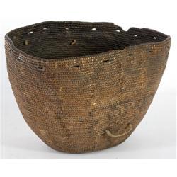 Early Salish Cooking Basket