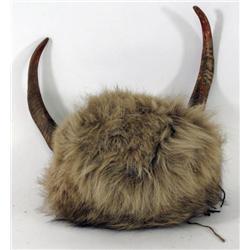 Split Buffalo Horn Bonnet