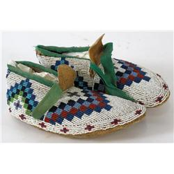 Beaded Child's Moccasins