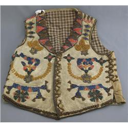 Native American Beaded Vest