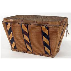 Salish Lidded Basket