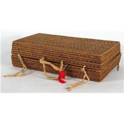 Salish Suitcase Basket