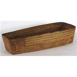 Salish Basketry Cradle