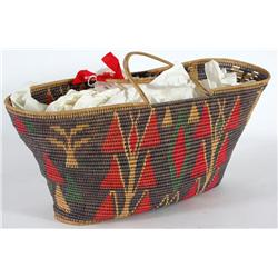 Double-Handled Basket