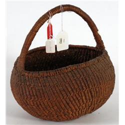 Circular Handled Basket