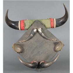 Buffalo Horn Rack