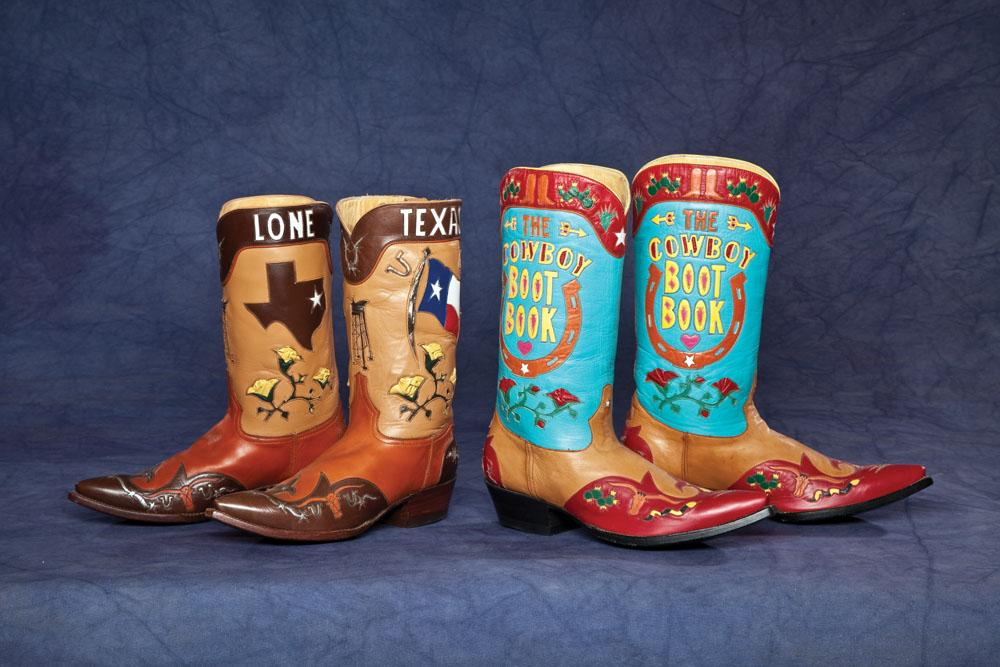 61618d1498f Two Pair of Fine Custom-order Rocket Buster Boots