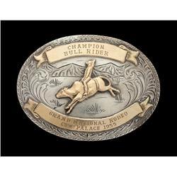 Jim Shoulders' Grand National Rodeo Buckle