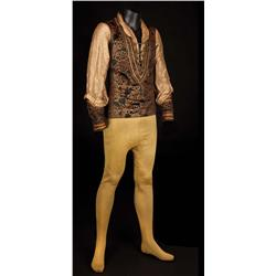 "Douglas Fairbanks, Sr. ""Petruchio"" complete costume with boots from The Taming of the Shrew"