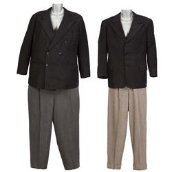 Stan Laurel and Oliver Hardy signature suits