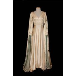 "Jeanette MacDonald ""Katherine"" Ecru medieval gown from Vagabond King"