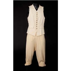 "Clark Gable ""Christian"" Ivory wool vest and pantaloons from Mutiny on the Bounty (1935)"