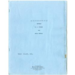 W. C. Fields signed contract and typescripts for The Great Man