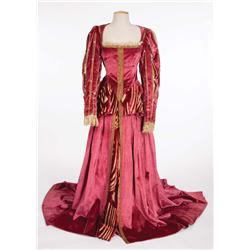 Suite of (3) elaborate period gowns plus Ross Alexander's  tunic jacket, A Midsummer Night's Dream