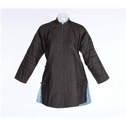 "Luise Rainer ""O-Lan"" black quilted jacket from The Good Earth"