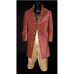 "Robert Morley ""King Louis XVI"" wine velvet coat and gold satin pantaloons from Marie Antoinette"