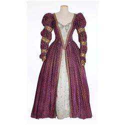 Lady of the Court period dress from The Private Lives Elizabeth and Essex