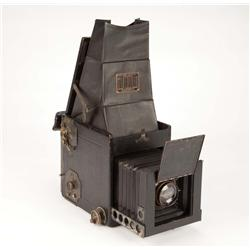 "Clarence Sinclair Bull's complete working 4 x 5 Graflex ""R.B. Telescopic"" view-camera with case"