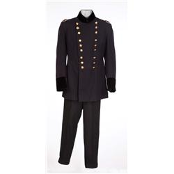 "Paul Kelly ""Gen. George A. Custer"" military costume and hat from Wyoming"