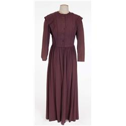 "Sara Allgood ""Bessie"" purple dress from Jane Eyre"