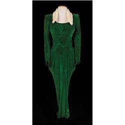 """Lena Horne """"Selina Rogers"""" green velvet dress from Stormy Weather"""