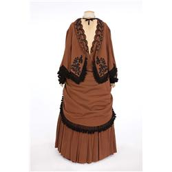 "Dame May Whitty ""Miss Thwaites"" period dress from Gaslight"