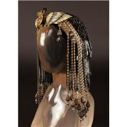 "Vivien Leigh ""Cleopatra"" royal headpiece attributed to Caesar and Cleopatra"