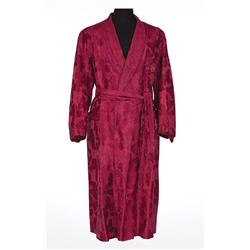 George Cukor personal dressing robe, sandal shoes, and handkerchief